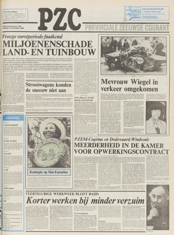 Provinciale Zeeuwse Courant 1980-11-07