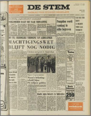de Stem 1974-04-04