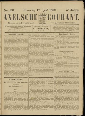 Axelsche Courant 1889-04-17