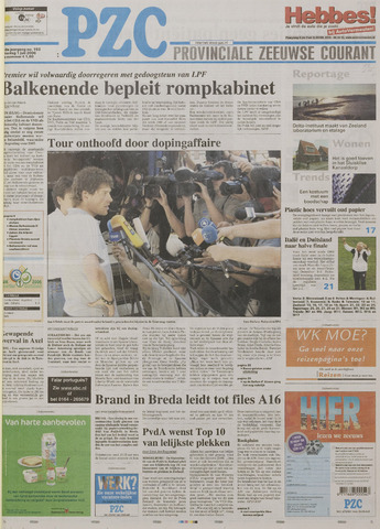 Provinciale Zeeuwse Courant 2006-07-01