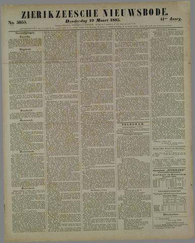 Zierikzeesche Nieuwsbode 1885-03-19