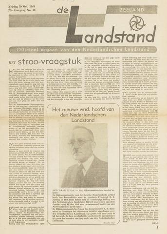 De landstand in Zeeland, geïllustreerd weekblad. 1943-10-29