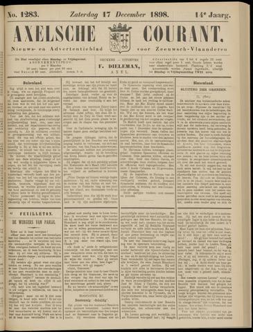 Axelsche Courant 1898-12-17
