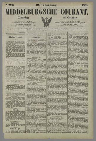 Middelburgsche Courant 1884-10-25