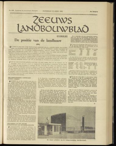 Zeeuwsch landbouwblad ... ZLM land- en tuinbouwblad 1961-04-15