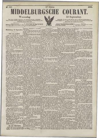 Middelburgsche Courant 1899-09-13