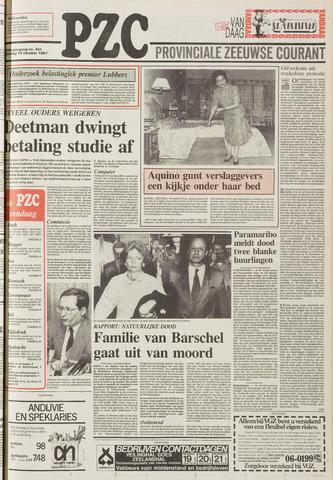 Provinciale Zeeuwse Courant 1987-10-12