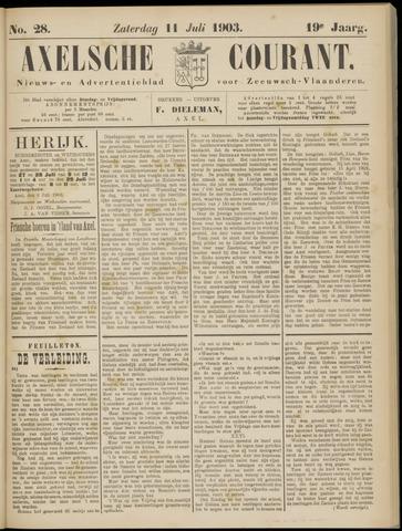 Axelsche Courant 1903-07-11