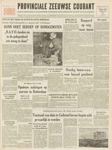 Provinciale Zeeuwse Courant 1965-02-18