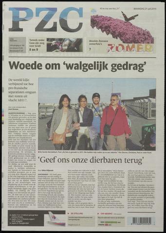 Provinciale Zeeuwse Courant 2014-07-21