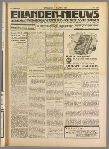 Eilanden-nieuws. Christelijk streekblad op gereformeerde grondslag 1939-03-04