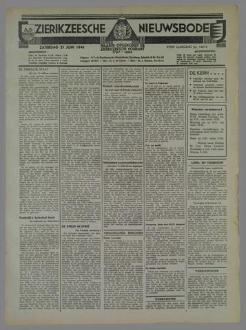 Zierikzeesche Nieuwsbode 1941-06-22