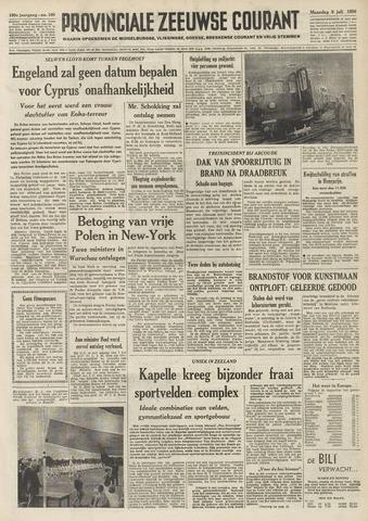 Provinciale Zeeuwse Courant 1956-07-09