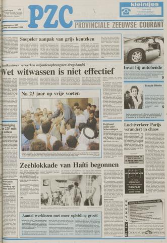 Provinciale Zeeuwse Courant 1993-10-20
