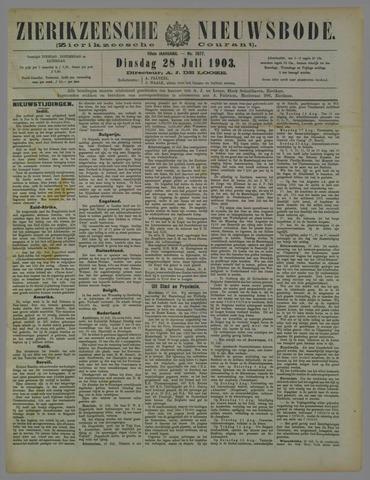 Zierikzeesche Nieuwsbode 1903-07-28