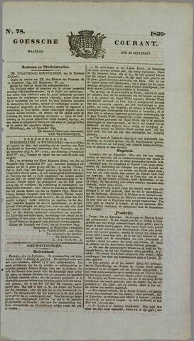 Goessche Courant 1839-09-30