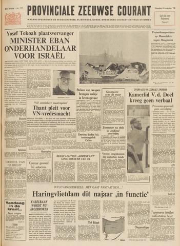 Provinciale Zeeuwse Courant 1970-08-24