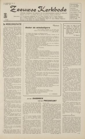 Zeeuwsche kerkbode, weekblad gewijd aan de belangen der gereformeerde kerken/ Zeeuwsch kerkblad 1962-04-13