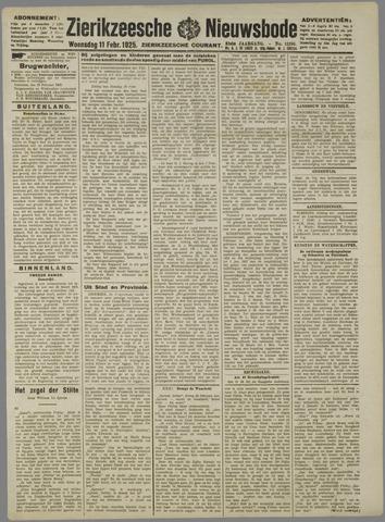 Zierikzeesche Nieuwsbode 1925-02-11