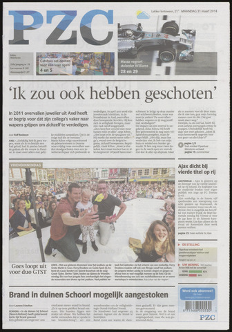 Provinciale Zeeuwse Courant 2014-03-31