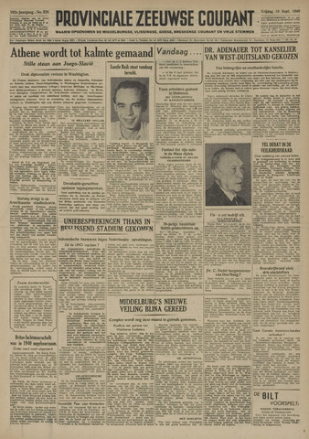 Provinciale Zeeuwse Courant 1949-09-16