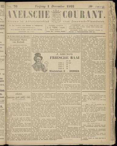 Axelsche Courant 1922-12-01