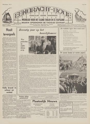 Eendrachtbode (1945-heden)/Mededeelingenblad voor het eiland Tholen (1944/45) 1969-05-08