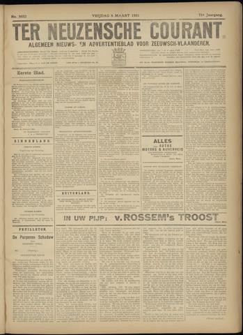 Ter Neuzensche Courant. Algemeen Nieuws- en Advertentieblad voor Zeeuwsch-Vlaanderen / Neuzensche Courant ... (idem) / (Algemeen) nieuws en advertentieblad voor Zeeuwsch-Vlaanderen 1931-03-06