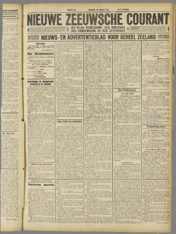 Nieuwe Zeeuwsche Courant 1927-03-22