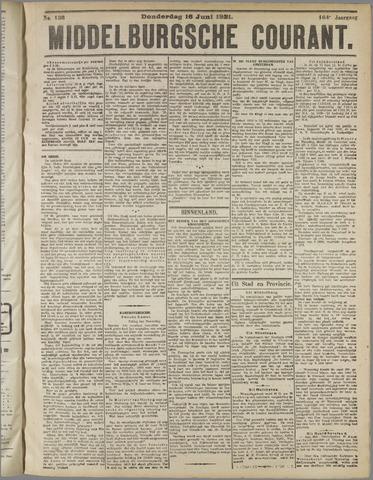 Middelburgsche Courant 1921-06-16