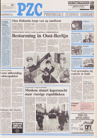 Provinciale Zeeuwse Courant 1990-01-16