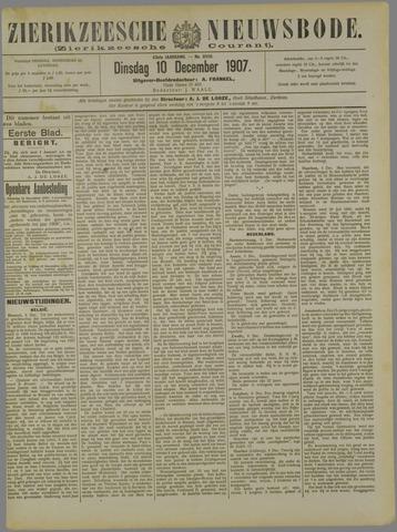 Zierikzeesche Nieuwsbode 1907-12-10