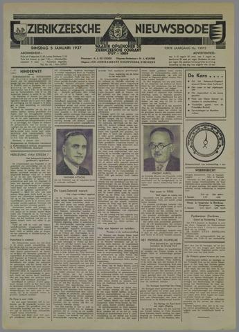 Zierikzeesche Nieuwsbode 1937-01-05