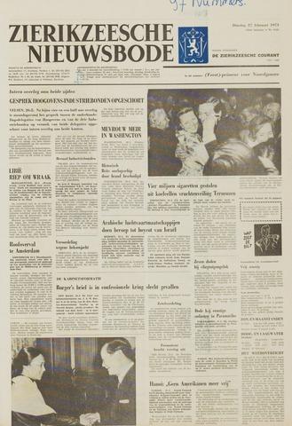 Zierikzeesche Nieuwsbode 1973-02-27