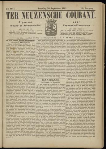 Ter Neuzensche Courant. Algemeen Nieuws- en Advertentieblad voor Zeeuwsch-Vlaanderen / Neuzensche Courant ... (idem) / (Algemeen) nieuws en advertentieblad voor Zeeuwsch-Vlaanderen 1882-09-30