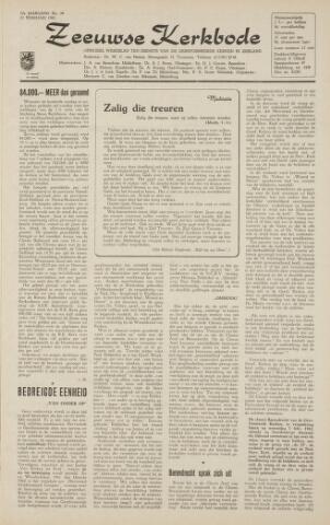 Zeeuwsche kerkbode, weekblad gewijd aan de belangen der gereformeerde kerken/ Zeeuwsch kerkblad 1962-02-23