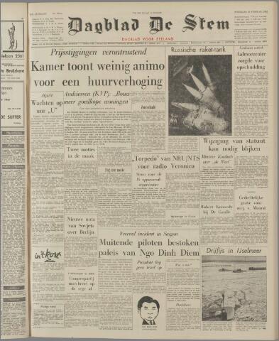 de Stem 1962-02-28