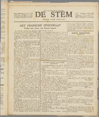 de Stem 1945-02-27