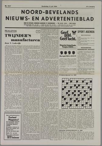 Noord-Bevelands Nieuws- en advertentieblad 1984-07-12