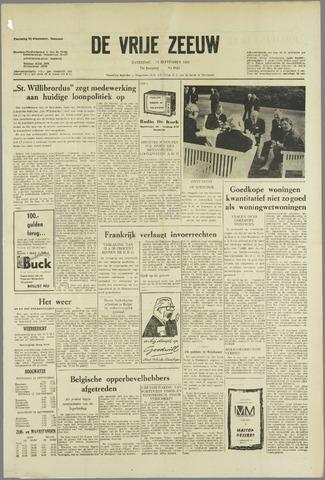 de Vrije Zeeuw 1963-09-14