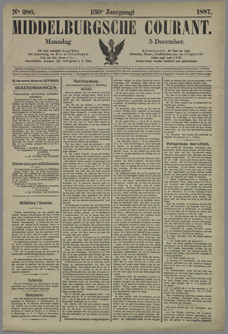 Middelburgsche Courant 1887-12-05
