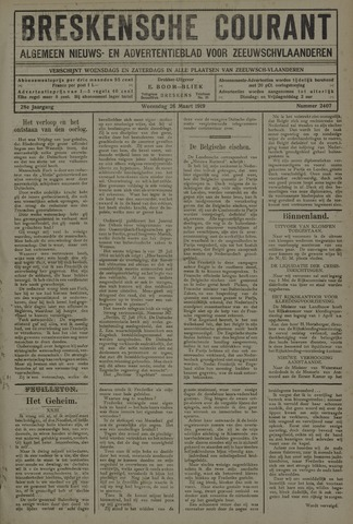 Breskensche Courant 1919-03-26
