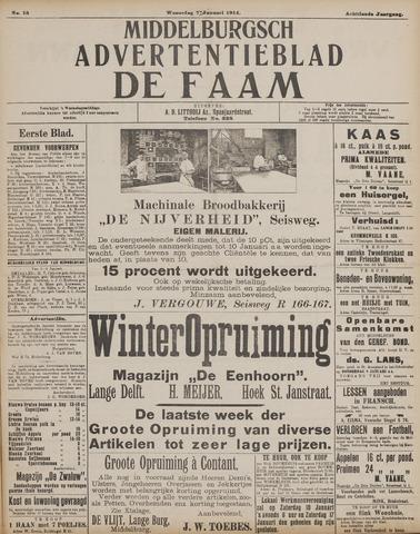 de Faam en de Faam/de Vlissinger 1914