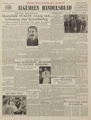 Watersnood documentatie 1953 - kranten 1953-03-04