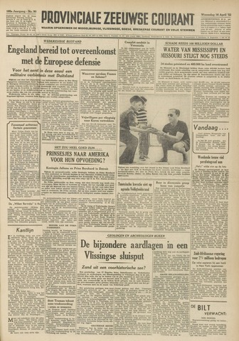 Provinciale Zeeuwse Courant 1952-04-16