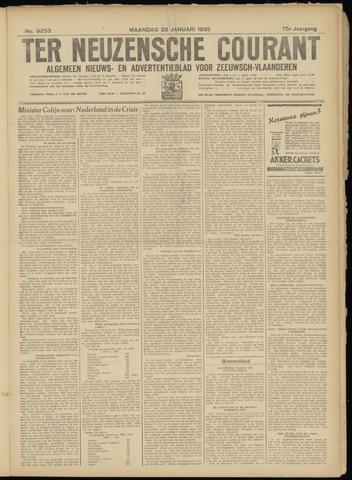 Ter Neuzensche Courant. Algemeen Nieuws- en Advertentieblad voor Zeeuwsch-Vlaanderen / Neuzensche Courant ... (idem) / (Algemeen) nieuws en advertentieblad voor Zeeuwsch-Vlaanderen 1935-01-28