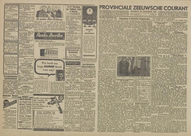 Provinciale Zeeuwse Courant 1942-12-28