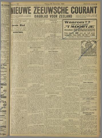 Nieuwe Zeeuwsche Courant 1920-12-24