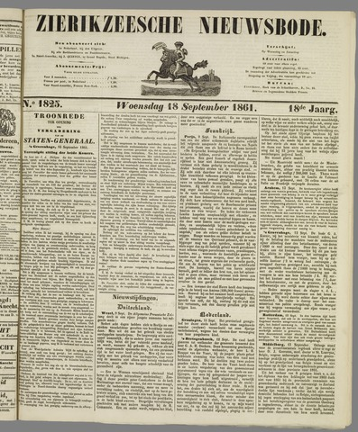 Zierikzeesche Nieuwsbode 1861-09-18