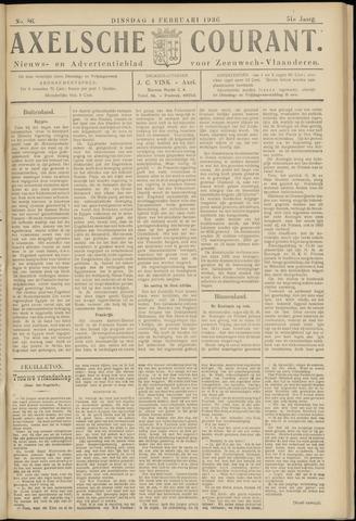Axelsche Courant 1936-02-04